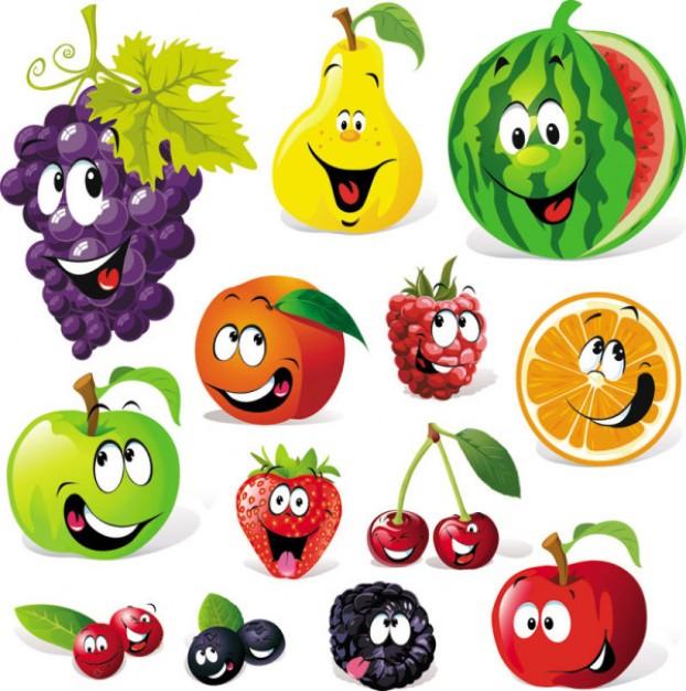 dibuixos-de-fruites-vector-d-39expressio 34-51178