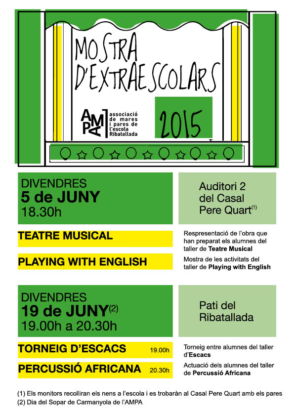 OK Cartell mostra 2015 T