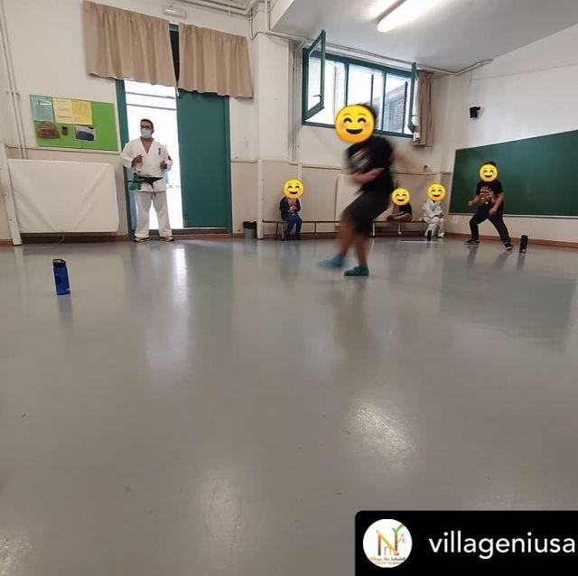 Posted @withregram • @villageniusabadell Avui segon dia d'extraescolars a l'escola @afaribatallada. Avui hem iniciat DEFENSA KIDS 🥋 #extraescolars #sabadell #multiesport #ribatallada #eduquem #lleure